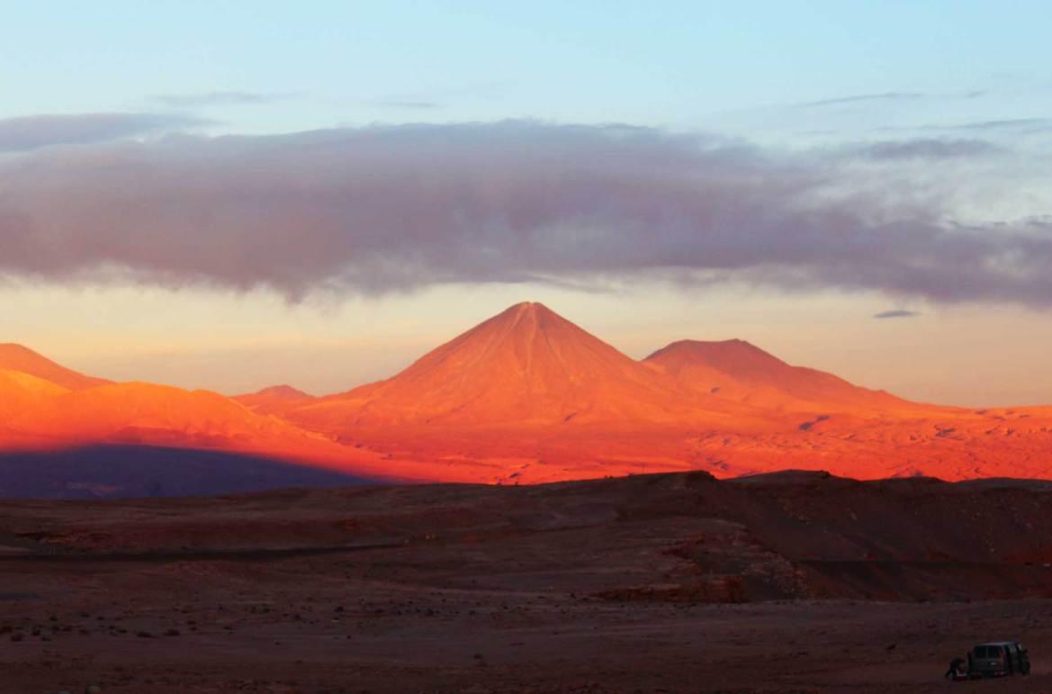 Fotos de viagem - Vulcão Licancabur, Deserto do Atacama (Chile)
