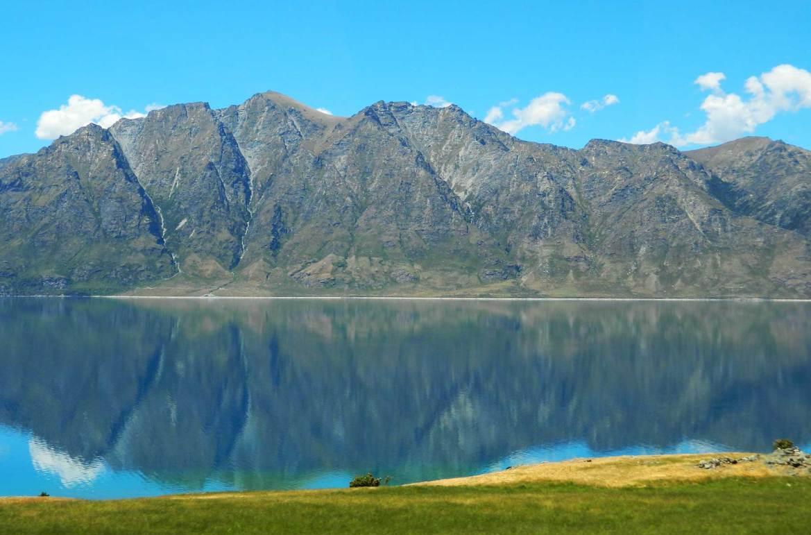 Fotos de viagem - Lago Hawea, Wanaka (Nova Zelândia)