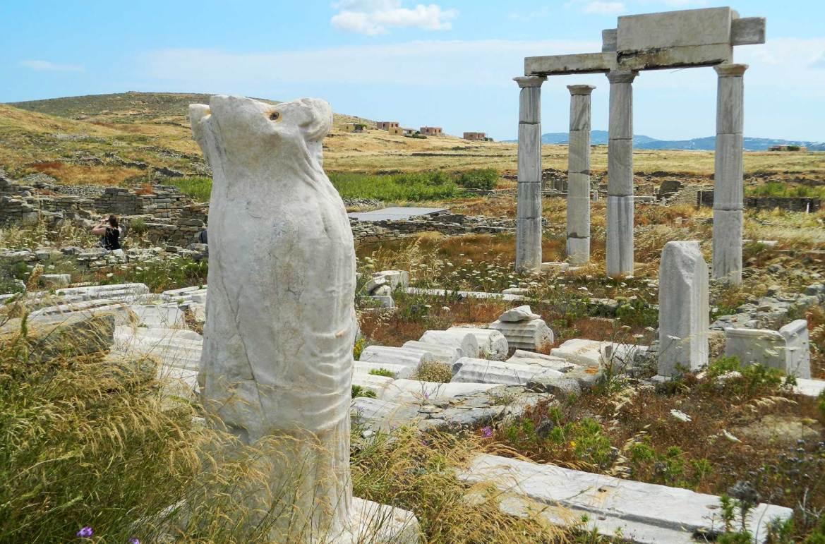 Fotos de viagem - Ilha de Delos (Grécia)