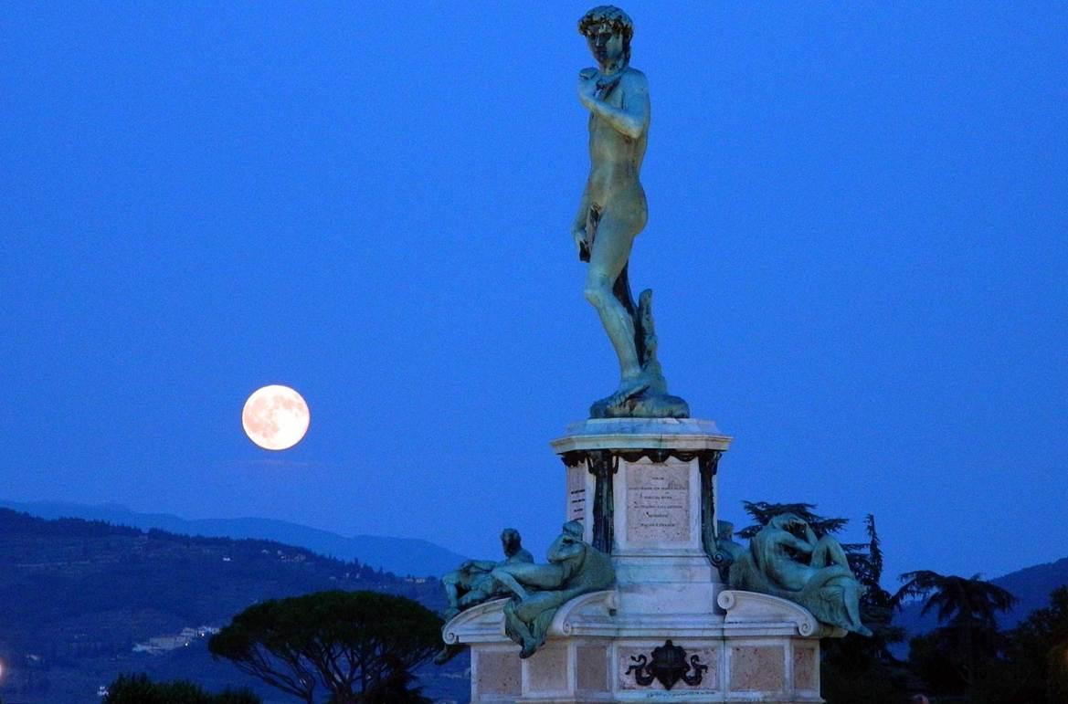 Fotos de viagem - Piazzale Michelangelo, Florença (Itália)