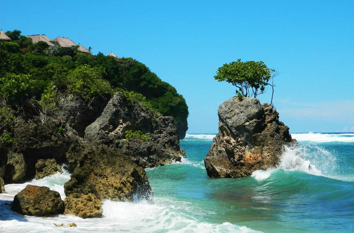 Fotos de viagem - Praia de Bingin, Ilha de Bali (Indonésia)