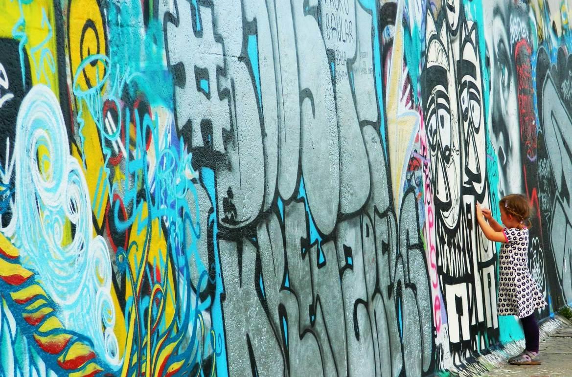 Fotos de viagem - Muro de Berlim (Alemanha)