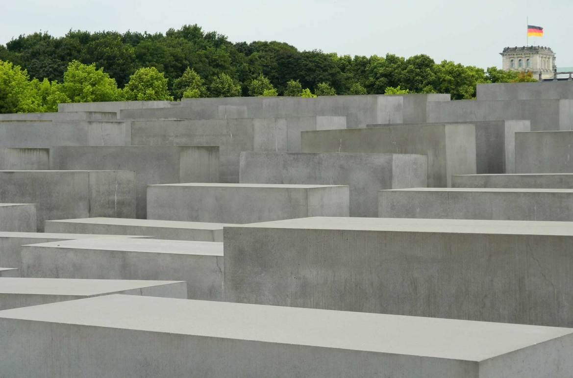 Fotos de viagem - Memorial do Holocausto, Berlim (Alemanha)