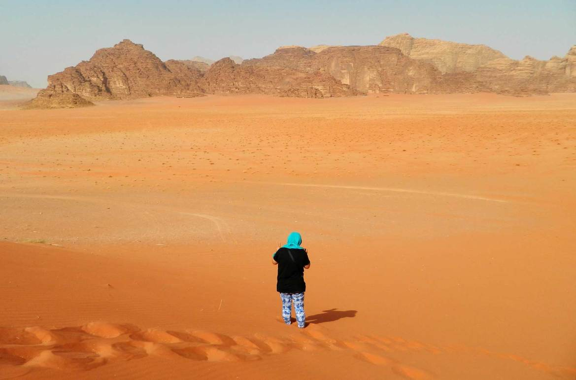 Fotos de viagem - Deserto de Wadi Rum (Jordânia)