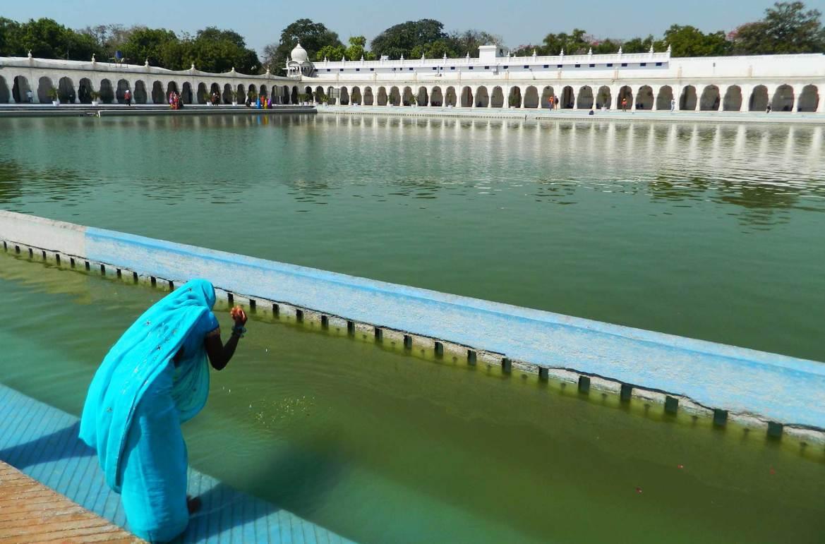 Fotos de viagem - Templo Gurudwara Bangla Sahib, Nova Déli (Índia)