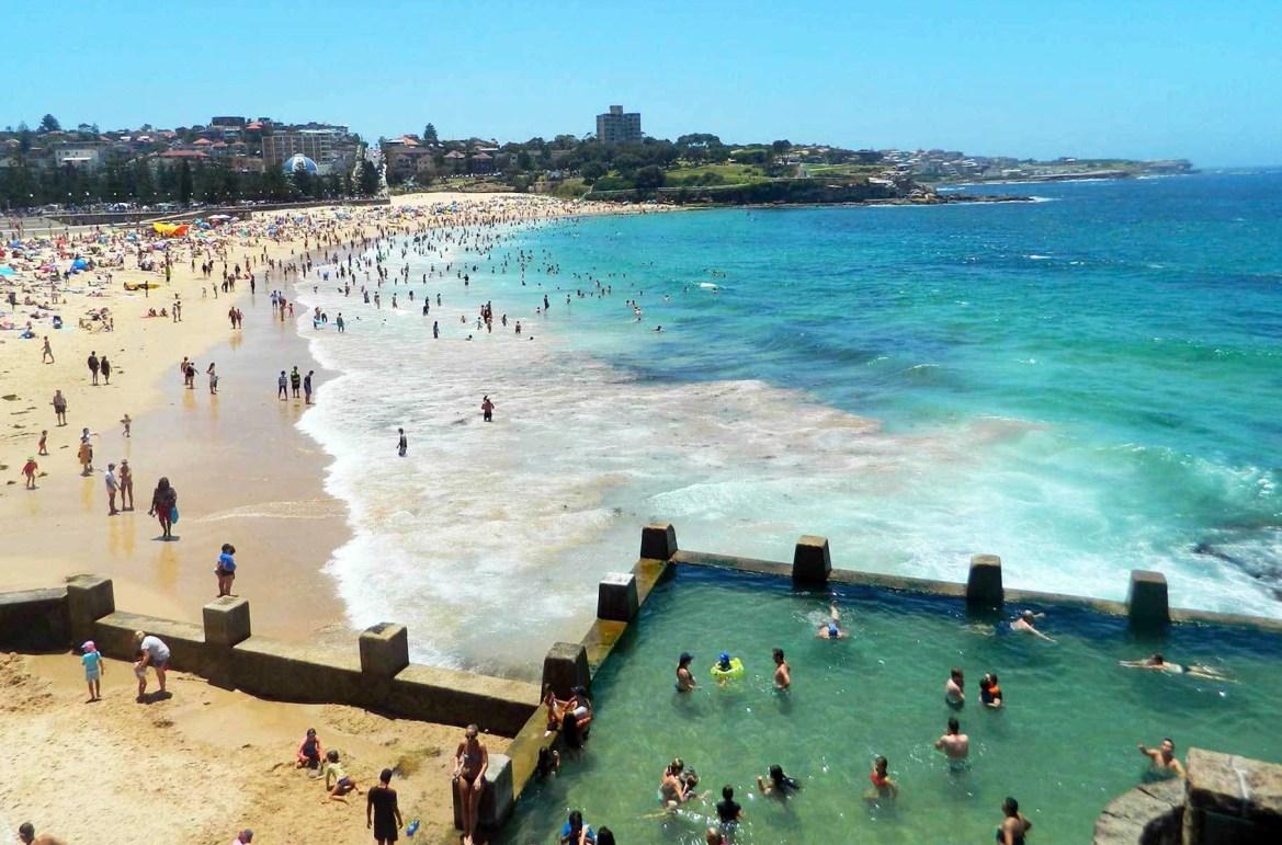 Praias mais lindas do mundo - Coogee Beach, em Sydney (Austrália)