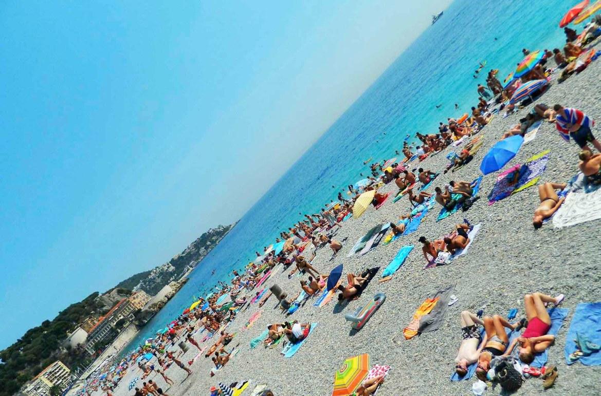 Praias mais lindas do mundo - Praia de Nice, na Côte D'Azur (França)