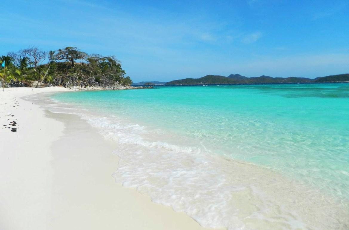 Praias mais lindas do mundo - Ilha Malcapuya, em Corón (Filipinas)