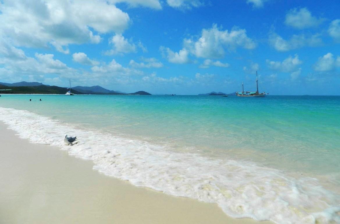 Praias mais lindas do mundo - Praia de Whitehaven, na Ilha Whitsunday (Austrália)