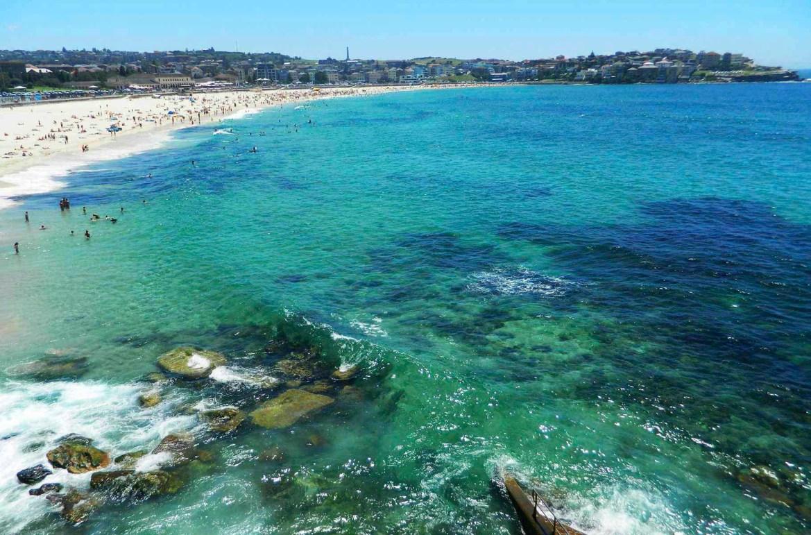 Praias mais lindas do mundo - Bondi Beach, em Sydney (Austrália)