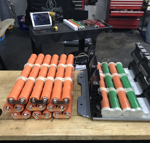 Honda Civic Hybrid Battery Repair