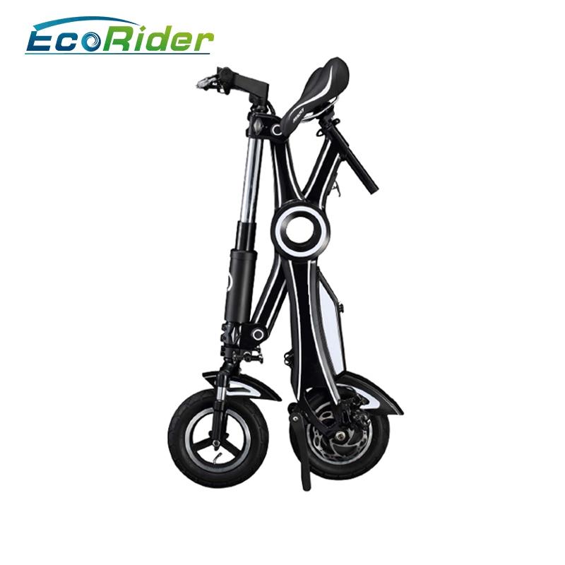 Bici eléctrica plegable, vespa eléctrica de 2 ruedas, E