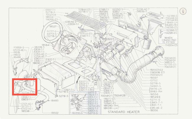 Mk1 Cortina Heater Matrix Plate Screws GT Lotus Brand NEW