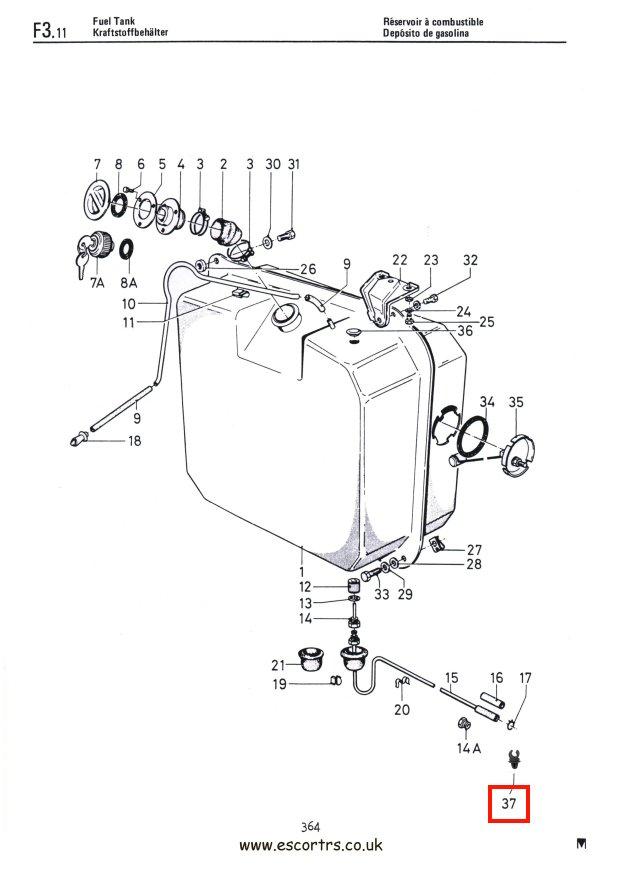 ford fuel line diagrams