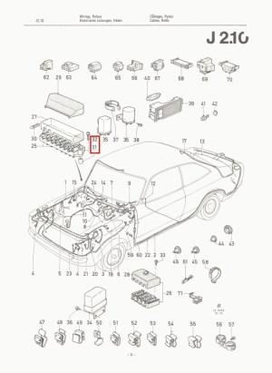 Mk2 Escort Fuse Box Spacers & Stainless Steel Screws