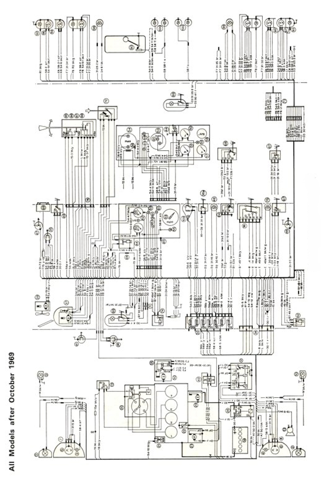 Mk1 Escort Super Wiring Diagram (Full Set) Post 1969