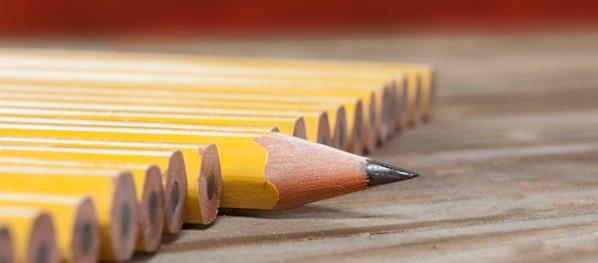 Lápis simbolizando as diferenças