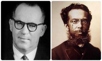 Escritores João Guimares Rosa e Machado de Assis