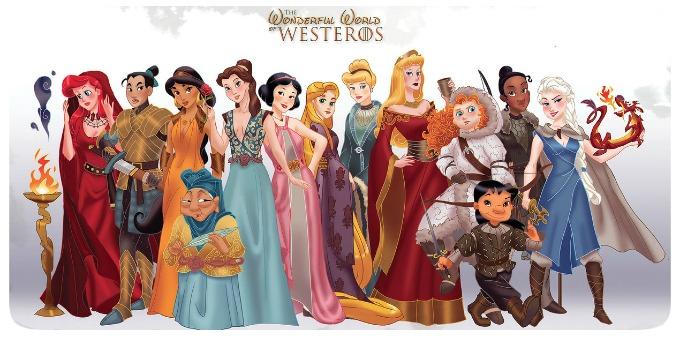 Wonderful World of Westeros - Disney