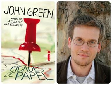 """Livro """"Cidades de Papel"""", de John Green"""