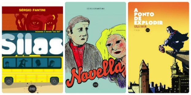 Livros do escritor Sérgio Fantini
