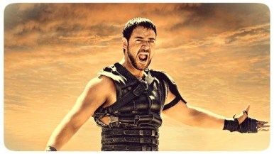 """Russell Crowe em cena do filme  """"Gladiador"""""""