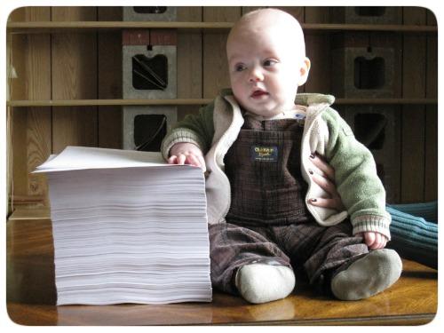 Escritor Bebê