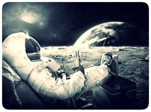 Astronauta no Espaço - Relax