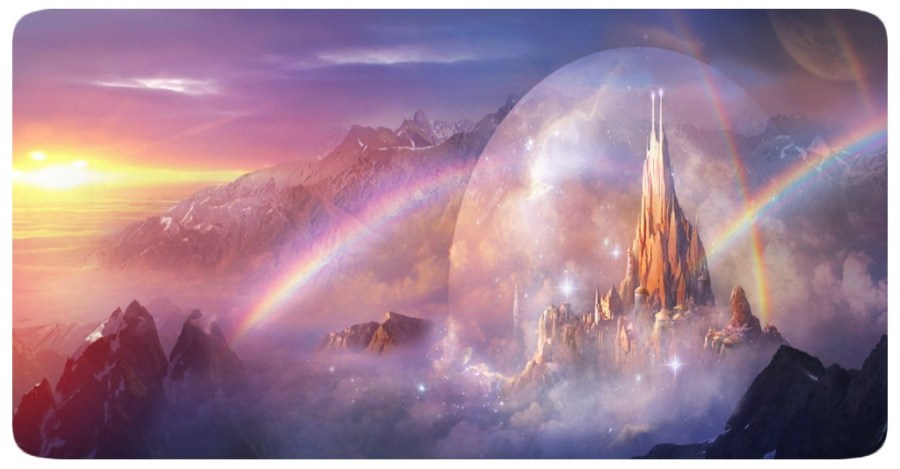 Castle in the Rainbow - Fantasy