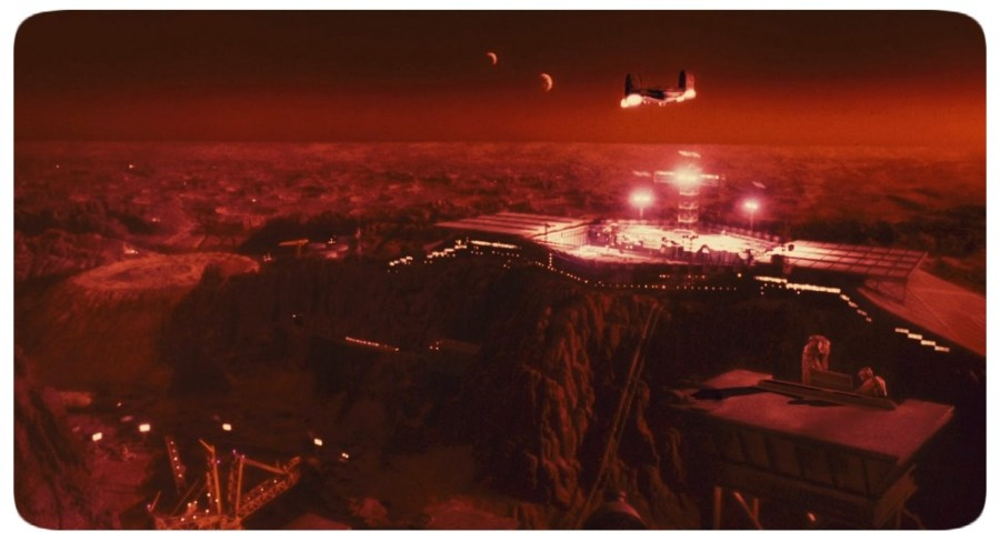 Total Recall - Mars Colony - Movie