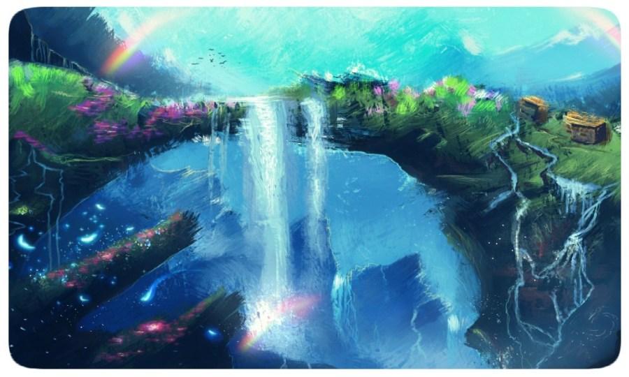 Fantasy - Rainbow - Nature - Concept Art
