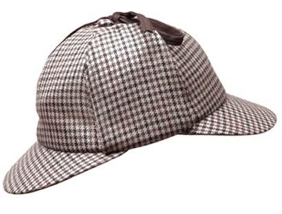 sherlock holmes sombrero hat deerstalker