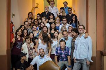 Autores de la Antología 2014 (casi todos)