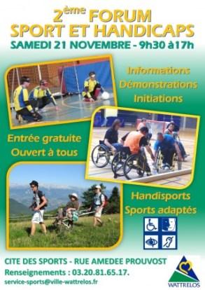 Affiche FORUM Sport&Handicaps2015-001