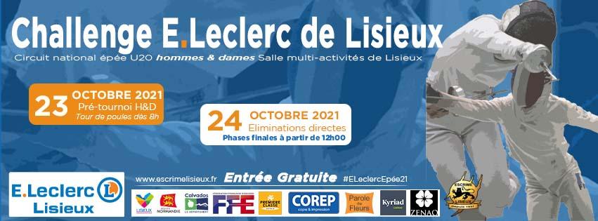 Challenge E.Leclerc de Lisieux – circuit national U20