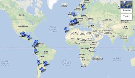 Ubicación Geográfica de Outliers Pioneros.