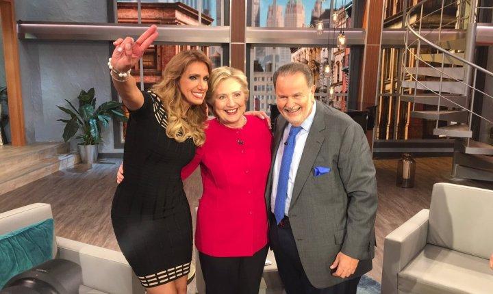 Hillary Clinton celebró cumpleaños con El Gordo y La Flaca