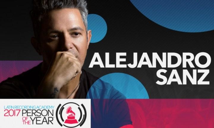 Latin Grammy honra a Alejandro Sanz como Persona del Año 2017