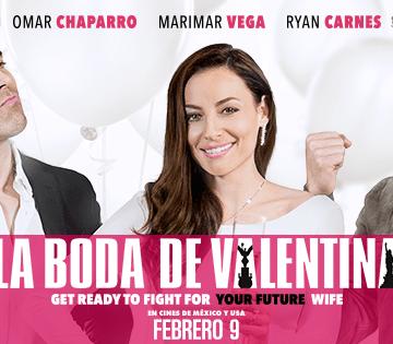 Ryan Carnes llega con su encanto a La Boda de Valentina