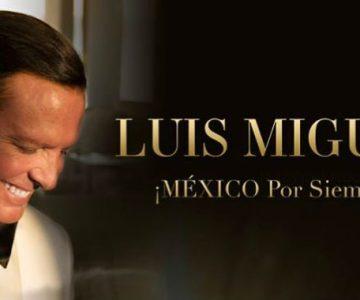 Luis Miguel trae a la Unión Americana su gira ¡México por siempre!