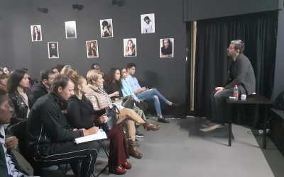 Nuevo profesor, Salva Martos Cortés, impartirá clases de guión en La Escuela de Cine de Málaga