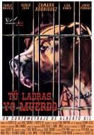 Cartel Cortometraje Tu ladras yo muerdo Escuela de Cine de Malaga