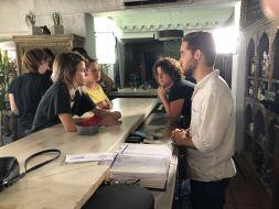 Cortometraje 33% Elena Kunitsyna Escuela Cine Malaga Actor Actriz Rodaje Cursos Casting Making Off Rodaje 9