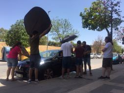 Cortometraje Heroína Alex Ortega Escuela Cine Malaga Actor Actriz Rodaje Cursos Casting Making Off Rodaje 2