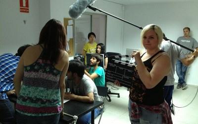 primeras imágenes del rodaje Mis amigos están ciegos dirigido por Carlos Bentabol
