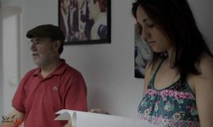 Escuela de Cine de Málaga Curso de Cine Cortometrajes Rodaje Mis amigos estan ciegos Carlos Bentabol14