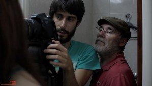 Escuela de Cine de Málaga Curso de Cine Cortometrajes Rodaje Mis amigos estan ciegos Carlos Bentabol20