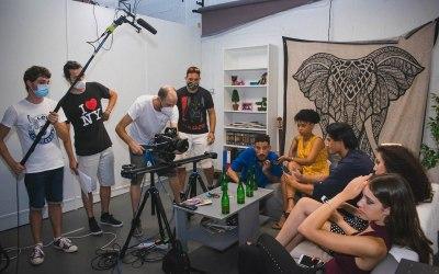 Rodaje del cortometraje «Redes» proyecto final del Máster de Dirección Cinematográfica