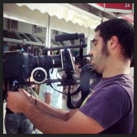 Jorge Jaenal Soto director de cine escuela de cine de Málaga cortometraje rodajes
