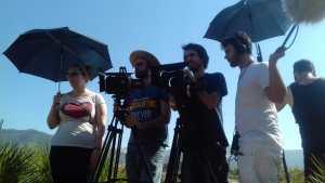 Makin off Rodaje Cortometraje La Montaña Maria Fortes Escuela Cine Malaga Actor Actriz Rodaje Cursos Casting 14